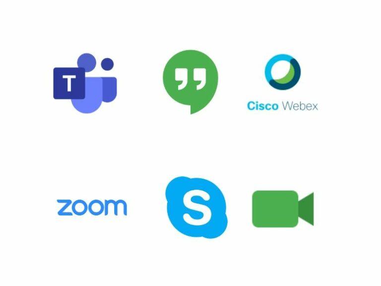 logos videoconferencia
